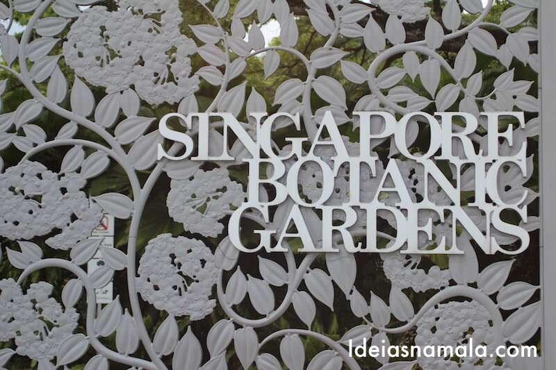 Portão do Jardim Botânico de Cingapura