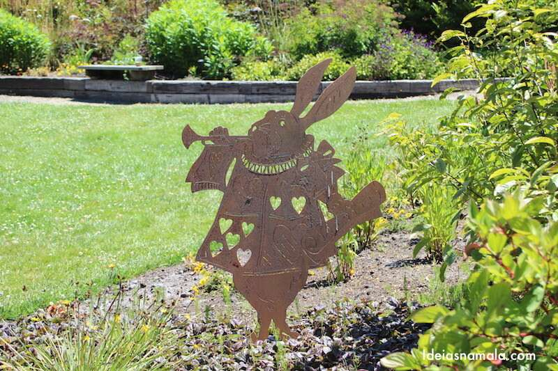Escultura de coelho