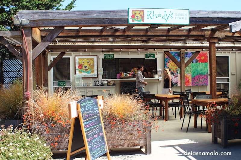 Café do Jardim Botânico de Mendocino - Califórnia
