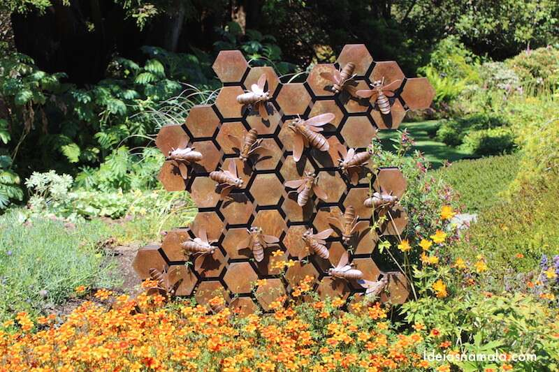 Escultura de colmeia