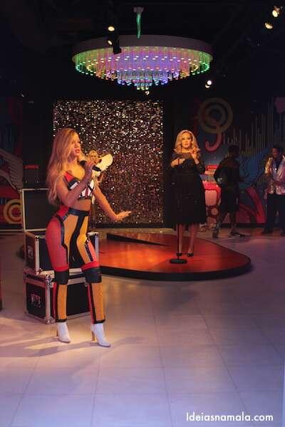 Cantoras no Madame Tussauds