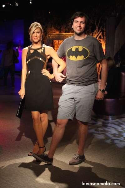 Jennifer Aniston no Madame Tussauds
