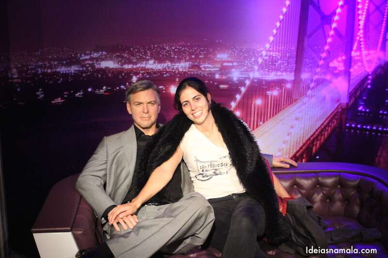 Clooney no Madame Thussauds