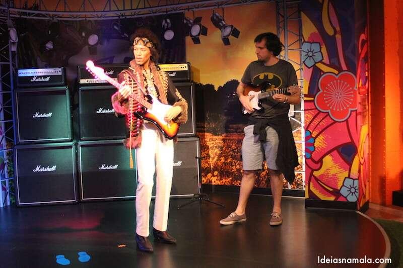 Jimi Hendrix no Madame Tussauds