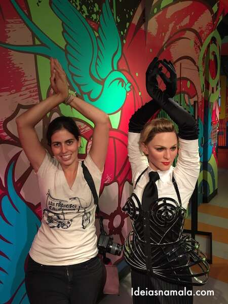 Madonna no Madame Tussauds