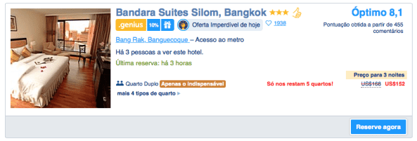 Booking - Bangkok