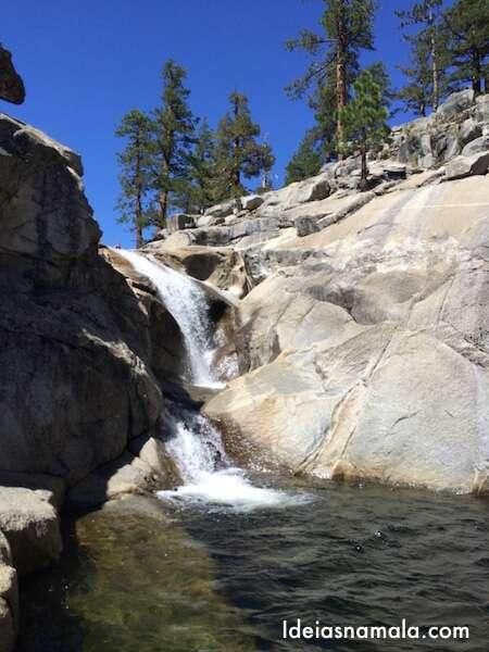 Topo da Yosemite Falls