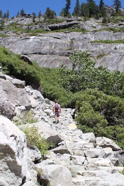 Trilha Upper Yosemite Falls