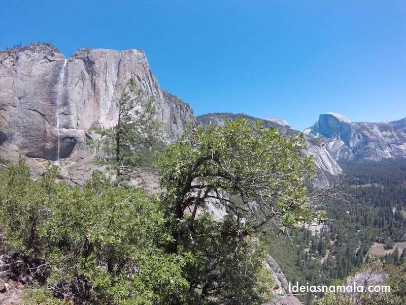 Yosemite Falls & Half Dome