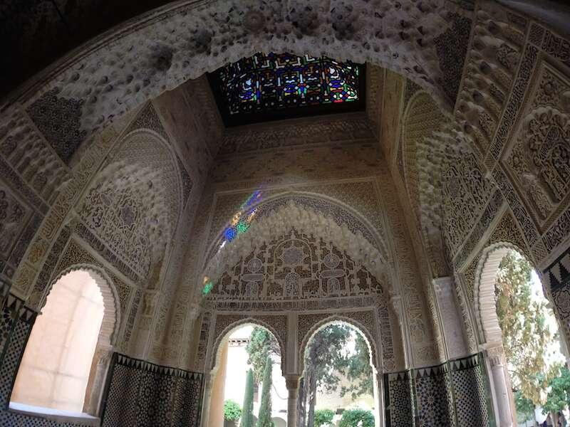 Relevos em Alhambra