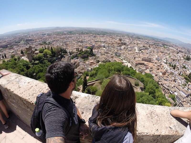 Granada vista de Alhambra