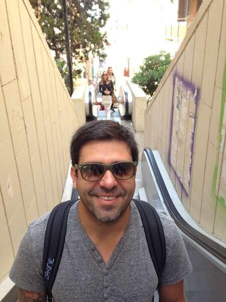Escada do Parc Guell