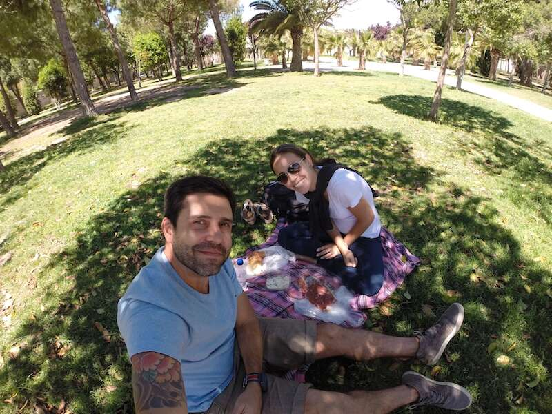 Picnic no Jardin del Turia