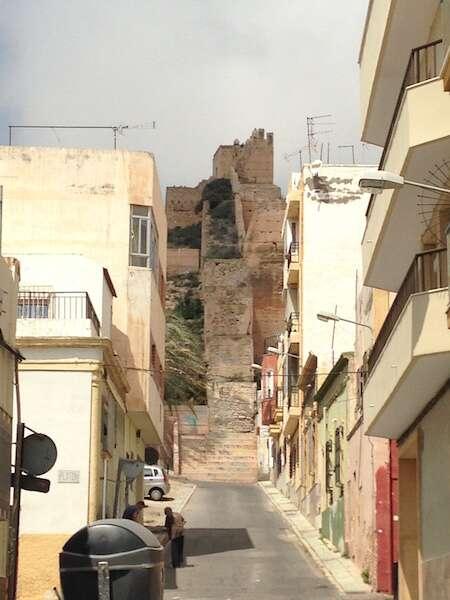 Mirante para Alcazaba