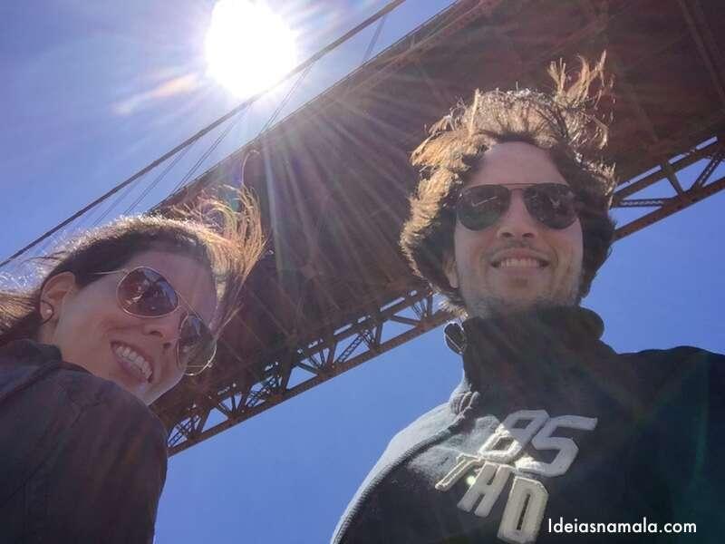 Passeio de barco - Golden Gate Bridge