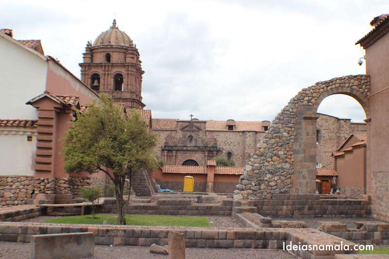 Ruínas de Cusicancha - Cusco