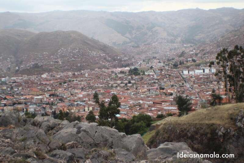 Cusco vista do alto