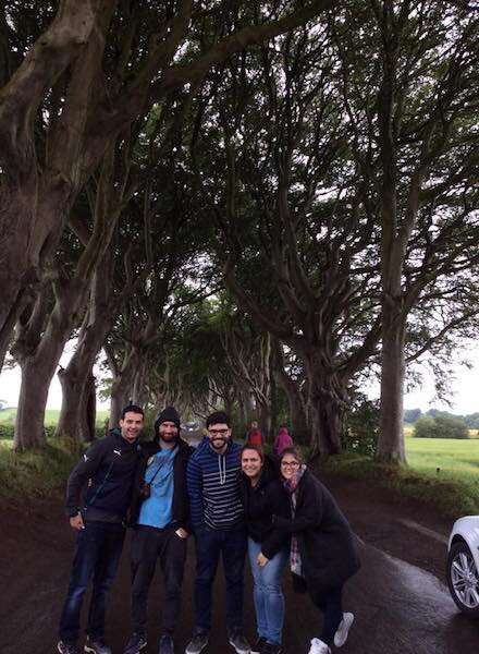 Dark Headges - Irlanda