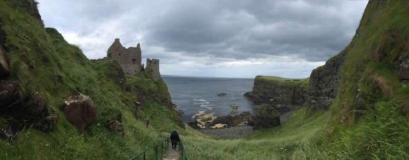 Dunluce Castle - Irlanda