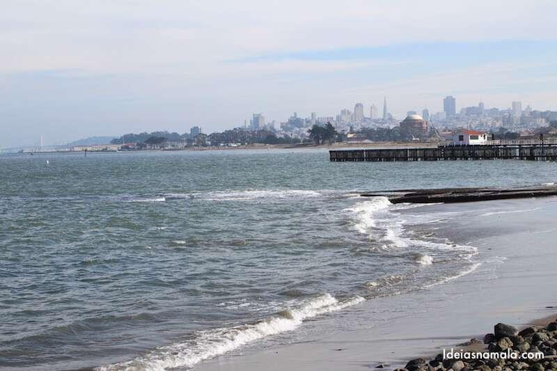 San Francisco vista do Crissy Field