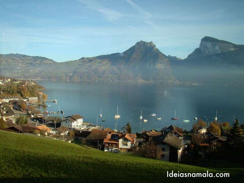 Lago Thunersee - Suiça