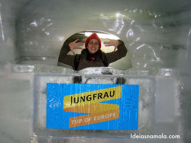 Palácio de gelo do Jungfrau