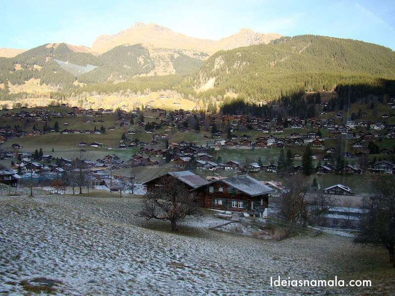 Grindelwald, a caminho do Jungfrau