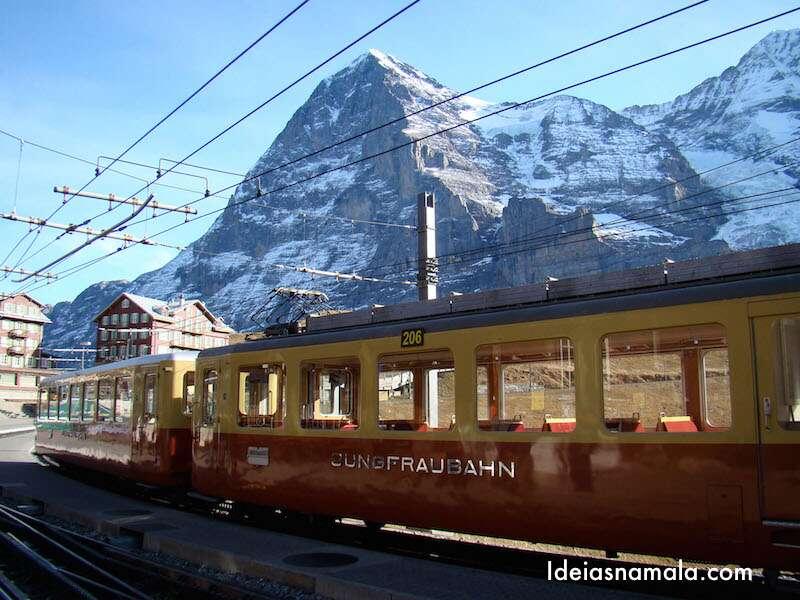 Trem para o JungFrau