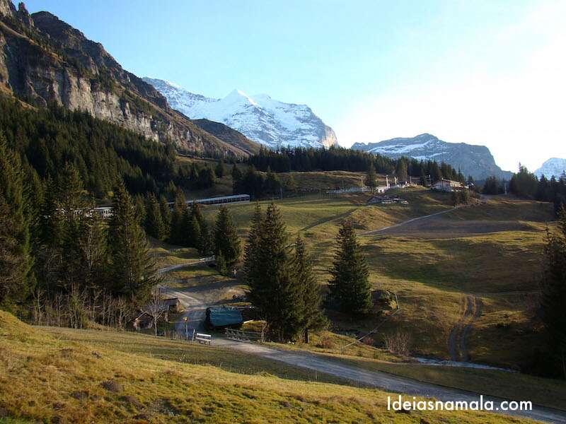 Decida do Jungfrau - Suiça