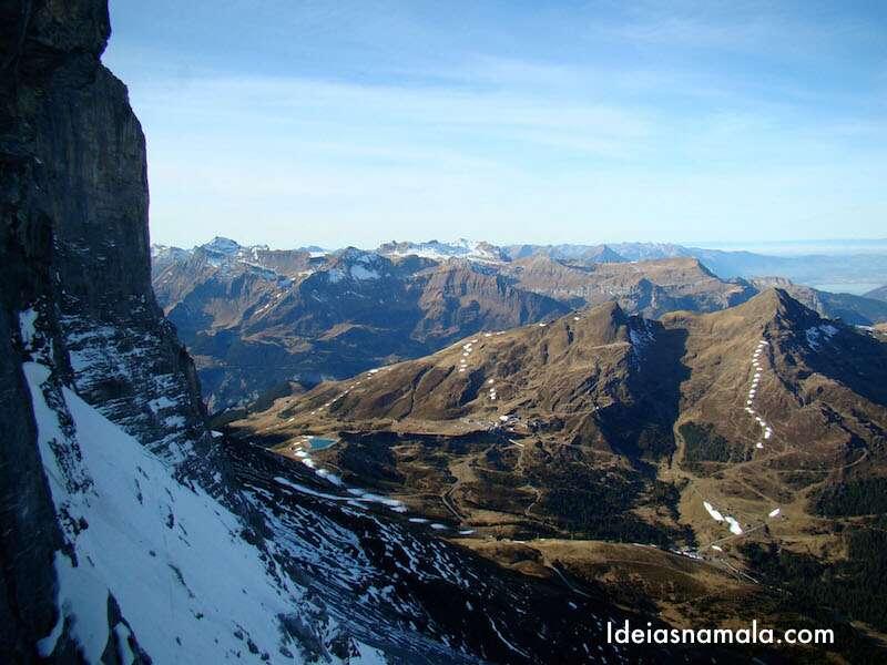 Eigerwand parada do Jungfrau