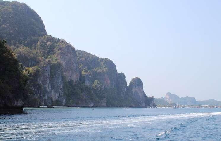 Saída de Koh Phi Phi
