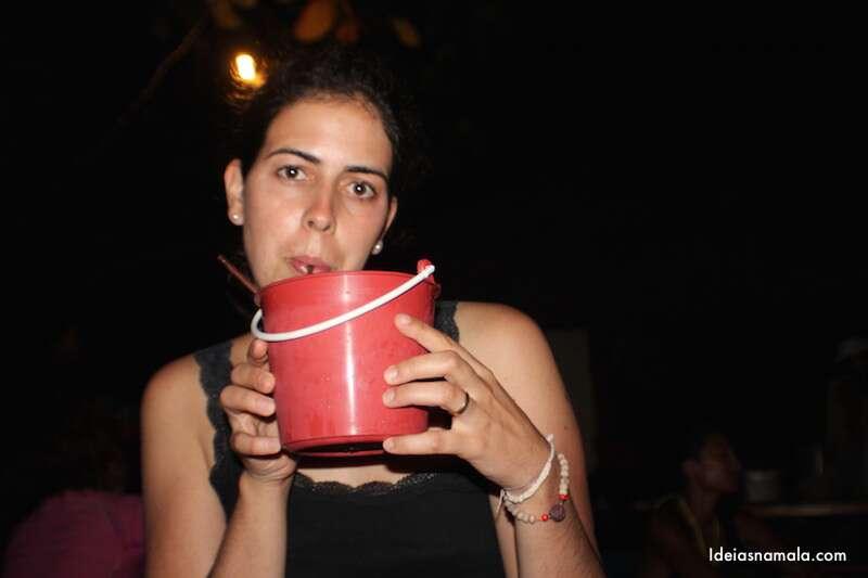 Bucket de bebida - Tailândia