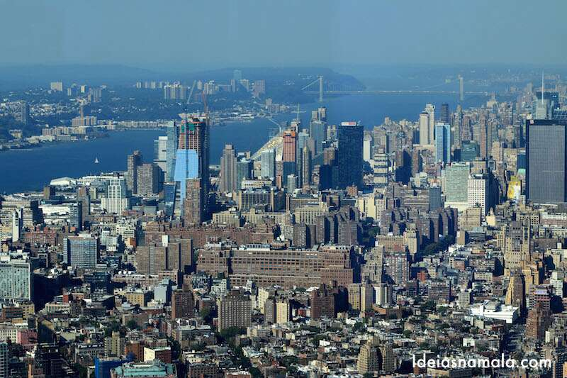 Vista do One World Observatory