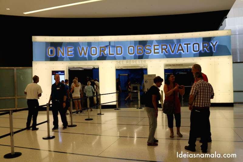 Entrada do Observatório One World