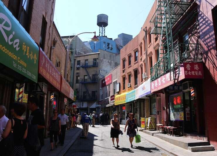 Doyle Street em China Town - NY