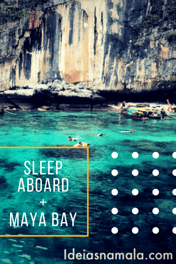 maya bay sleep aboard