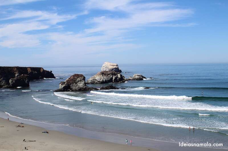 Sand Dollar Beach - Big Sur