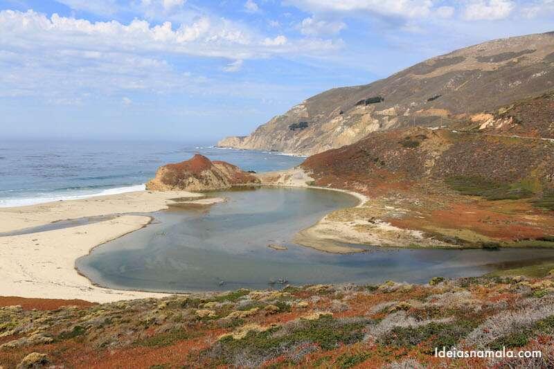 Big Sur - Encontro das águas