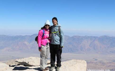 Topo do Mount Whitney