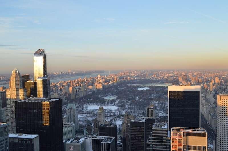 Vista do Top of the Rock - Nova York