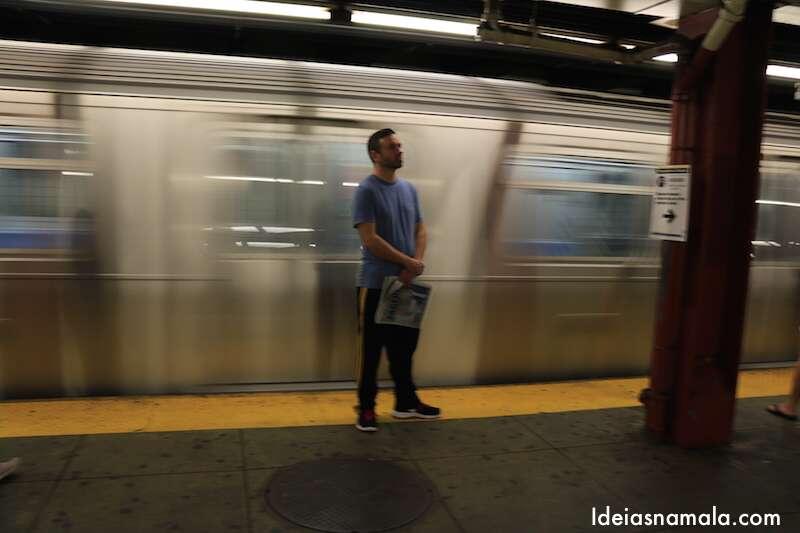 Metrô de Nova York - Safari Fotográfico