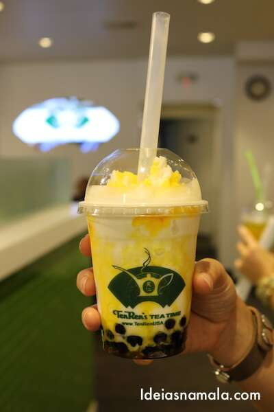Bubble Tea de Lichia - Ten Ren's