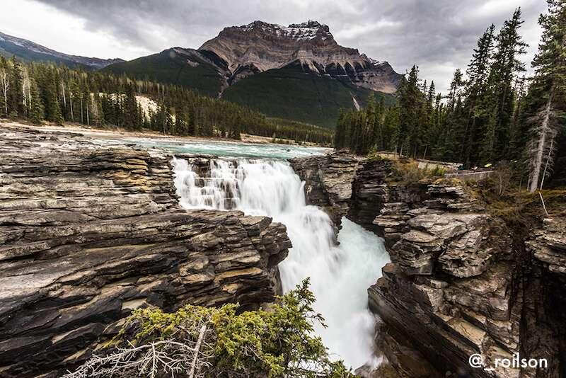 Athabasca falls - Canadá