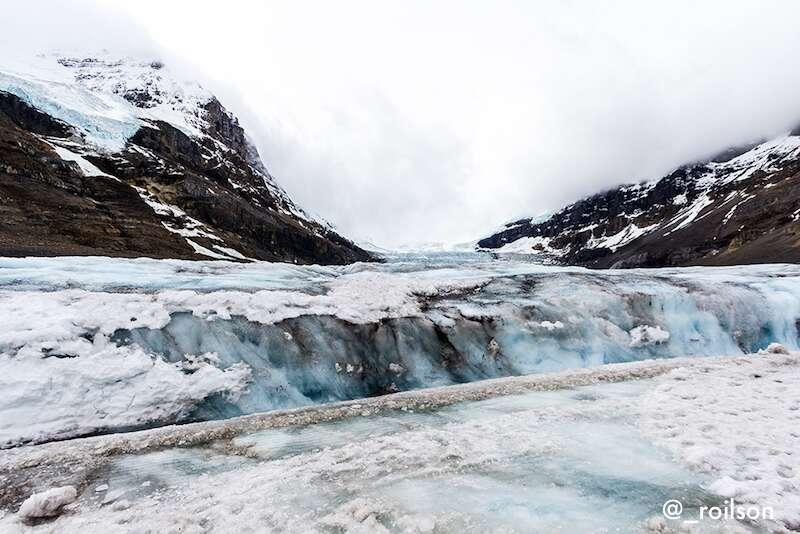 Athabasca glacier - Montanhas Rochosas Canadenses