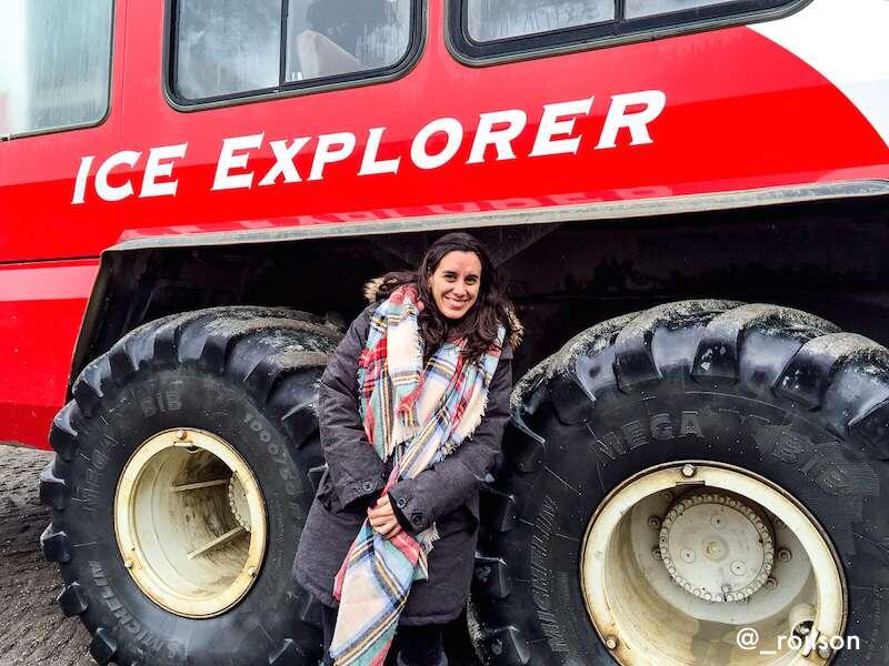 Ice explorer - Athabasca Glacier