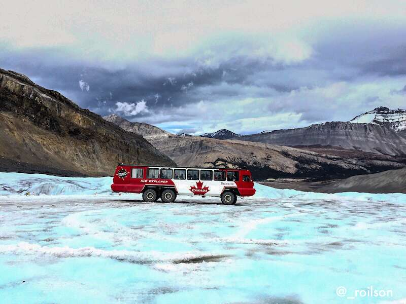 Ice explorer na Geleira