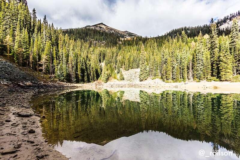 Mirror Lake em Banff - Canadá