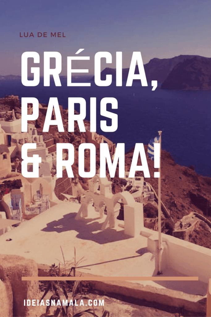grécia, paris e roma