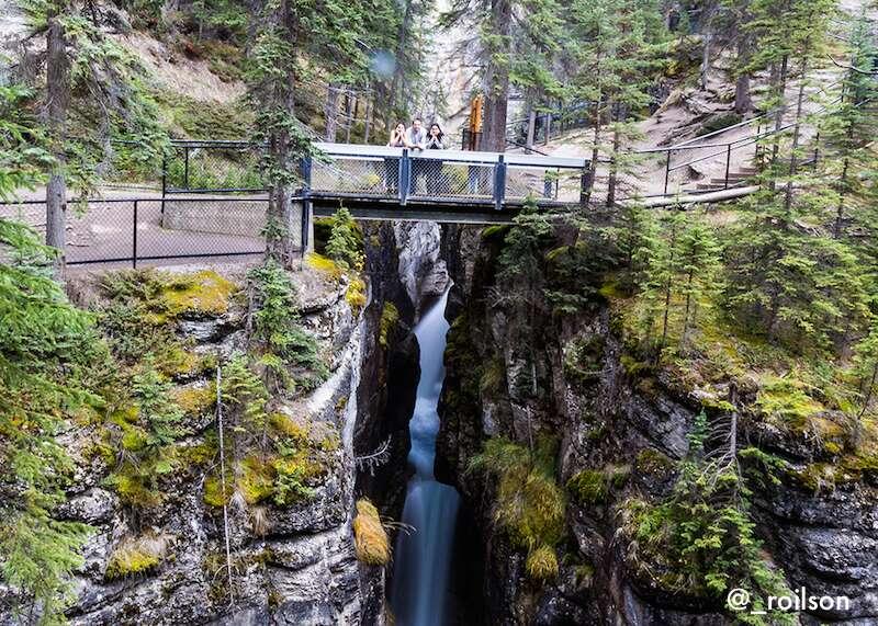 Maligne canyon - Canadá