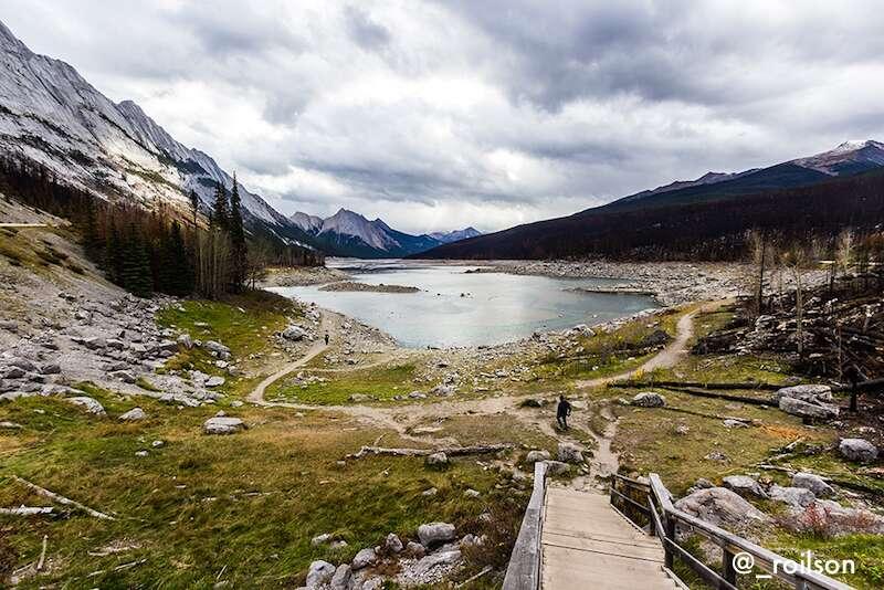 Medicine lake - Canadá